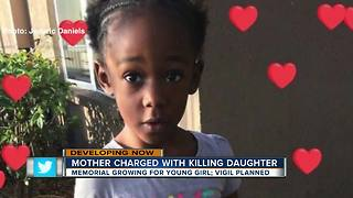 Hillsborough River memorial growing for 4-year-old girl allegedly drowned by mother - Video