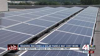 Trump solar panel tariff to impact local vendors - Video