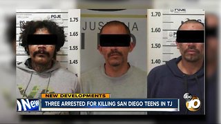 Three arrested for killing San Diego teens in Tijuana