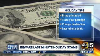 Authorities warn of holiday scams ahead of Christmas - Video