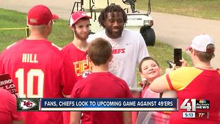 Fans, Chiefs look to upcoming game against 49ers - Video