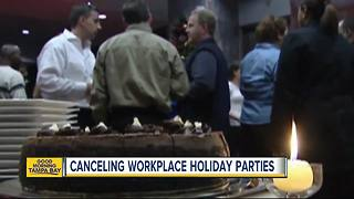 Businesses cutting out holiday parties for fear of sexual harassment - Video