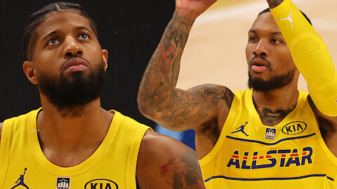 """Paul George FINALLY Admits Lillard's Shot Over Him Was A """"Great Shot' After Years Of Calling It Bad"""