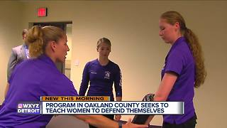 Program in metro Detroit seeks to teach women to defend themselves - Video