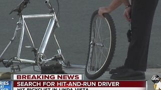 Police: Bicyclist runs stop sign, is hit by car - Video