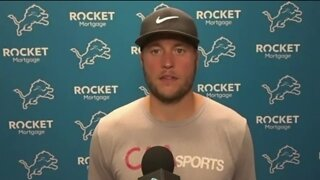 Matthew Stafford talks false-positive test scare