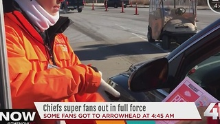 First people to park at Arrowhead - Video