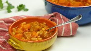 Pork and Butternut Squash Chili - Video