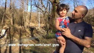 Talented Toddler Swings in the Wild - Video