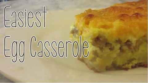 Easiest Egg Casserole