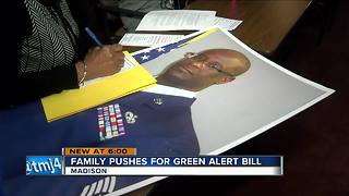 'Green Alerts' proposal would offer protection for missing veterans - Video