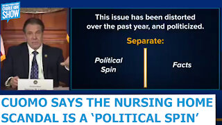 """New York Gov. Cuomo Says The Nursing Home Scandal Is """"Political Spin"""""""