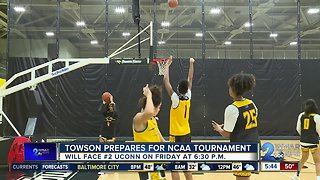 Towson prepares for first NCAA tournament