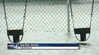Saukville water woes following storms
