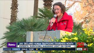 "January Declared ""Human Trafficking Awareness Month"""