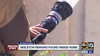 Human remains found in Ahwatukee home after 2017 fire
