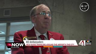 KCI Ambassadors help guide travelers around airport, city - Video