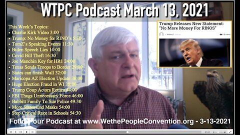 We the People Convention News & Opinion 3-13-21