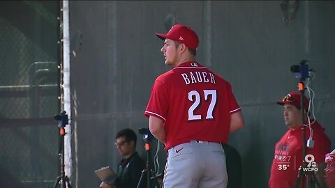 Trevor Bauer's first training camp with the Reds