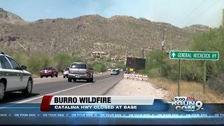 PCSD assisting with evacuations on Mount Lemmon due to Burro Fire - Video