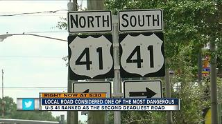 Bay Area road ranked as one of the most dangerous - Video