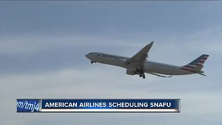 American Airlines scheduling snafu may leave travelers stranded - Video