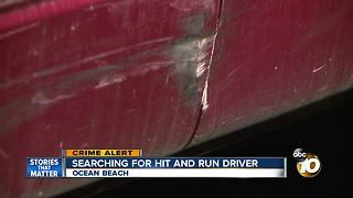 Police searching for hit-and-run driver - Video