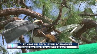 National Weather Service: 4 Tornadoes damaged 25 homes in Tampa Bay