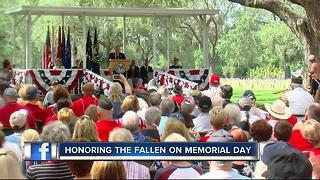 Local families unite to honor fallen veterans - Video