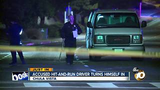 Accused hit-and-run drive turns himself in - Video
