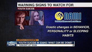 Finding Hope: Youth Suicides