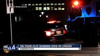 Woman killed in Sheboygan County Crash - Video