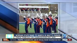 Morgan State band to perform in 2019 Macy's Thanksgiving Day Parade