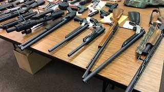 Eleven people indicted for gun trafficking, illegal sale of machine guns in the Canton area - Video