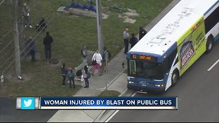 Explosion on Pinellas County bus injures passenger, police say - Video