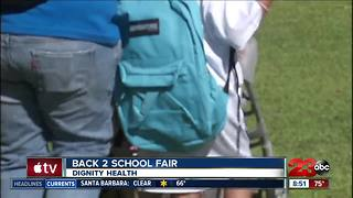 Dignity Health Back 2 School backpack giveaway - Video
