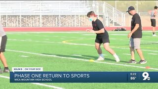 Sports begins at Mica Mountain High School