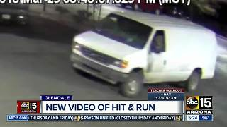 Surveillance video released in Glendale hit-and-run crash - Video