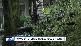Storm slams into South Buffalo - Video