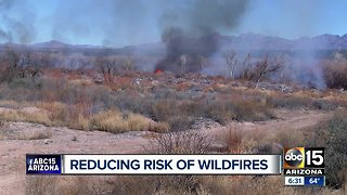 Arizona fire agencies perform prescribed burns ahead of wildfire season