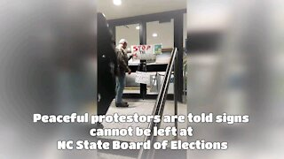 NC Voters Leave Message But...