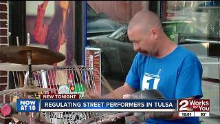 New possible regulations for street performers - Video