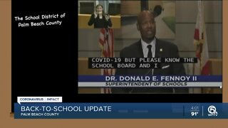 School District of Palm Beach County provides back-to-school update