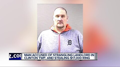 Man charged with attacking landlord, stealing her $17,000 ring