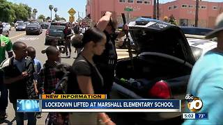 Lockdown lifted at Marshall Elementary School