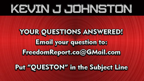Your Questions Answered By Kevin J Johnston and Special Guest Wayne Peters