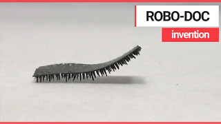 Tiny robot with 'caterpillar' legs could be used to deliver drugs inside human body
