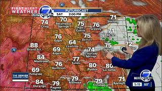 More sunshine and 70s this weekend - Video