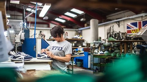 Keep on running: Britains last shoe manufacturer looks forward to post-brexit trade
