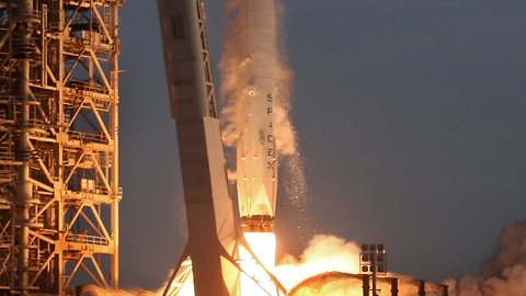 SpaceX's first DoD mission, NROL-76, launches and lands